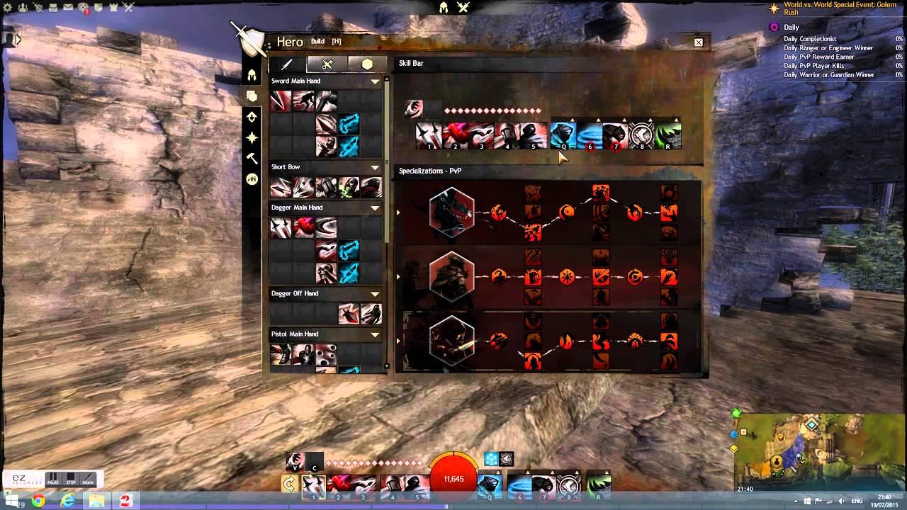 Guild Wars  Voleur Build