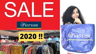 Westside Sale 2020 |Tips For Sale Shopping| What all things are on sale | What to shop at Westside ?