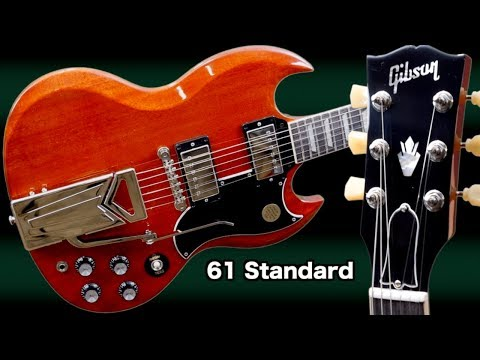 The NEW Gibson &39;61 SG Standard  2019 Sideways Vibrola Review + Demo