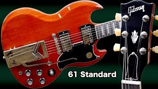 The NEW Gibson '61 SG Standard | 2019 Sideways Vibrola Review + Demo
