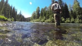 Рыбалка на хариуса в Горном Алтае/Лучшая хариусовая речка на Алтае.