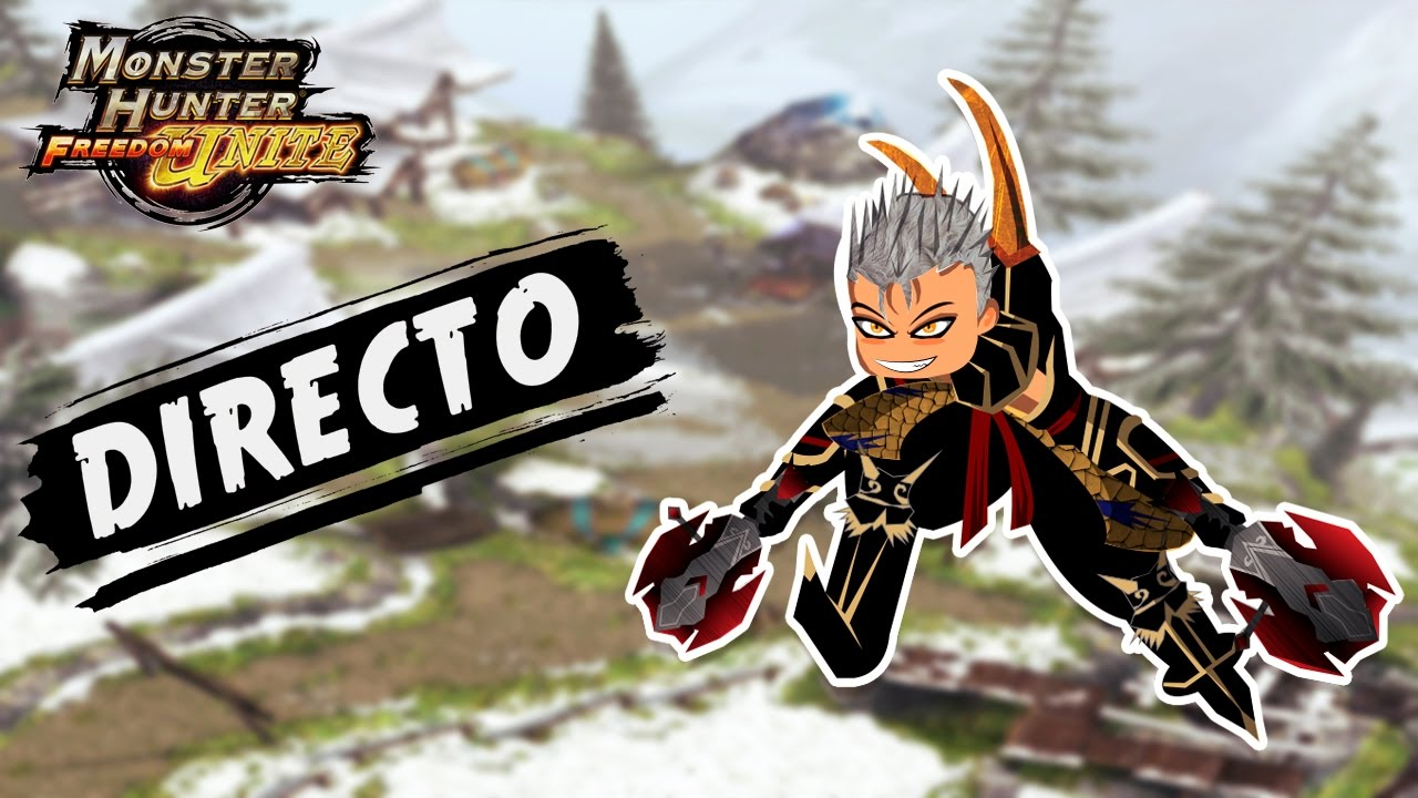 「Monster Hunter Freedom Unite」 Jugando con suscriptores - Hamachi #2 |  Directo #17