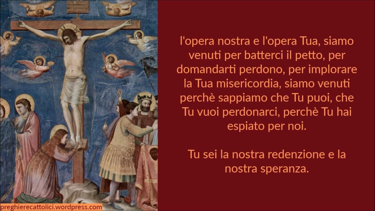 Preghiera per il Venerdi' Santo di Paolo VI - YouTube