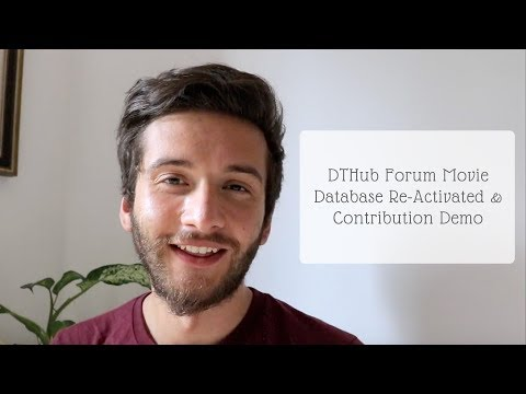 DTHub Forum Movie Database Re Activated & Contribution Demo