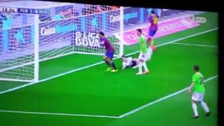 Lionel Messi Goal  Barcellona vs Osasuna 1 0
