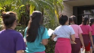 CBS News goes inside center for detained immigrant children in Homestead, Florida