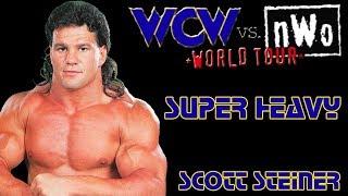 WCW vs. nWo: World Tour N64 Playthroughs - SUPER HEAVYWEIGHT Title with Scott Steiner (1080p/60fps)