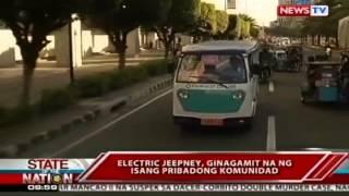 SONA: Amphibian Tricycle na gawang Pinoy, puwedeng sumuong sa baha