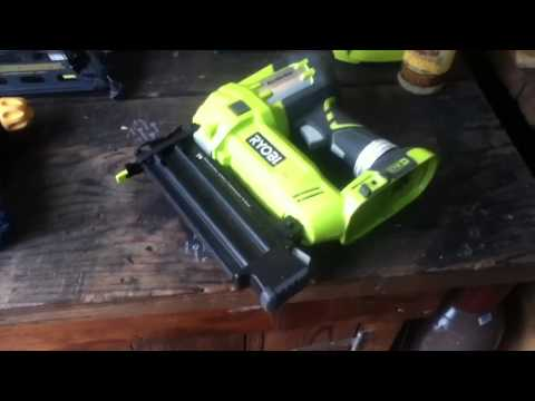 Ryobi Airstrike 18v Cordless Fastening Tools Tool Review