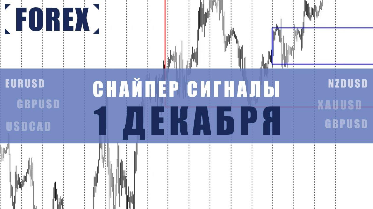 СИГНАЛЫ СНАЙПЕР НА 1 ДЕКАБРЯ | Трейдер Максим Михайлов