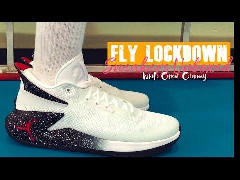 9b8abdde430 JORDAN FLY LOCKDOWN - Unboxing, On-feet Performance Review - YouTube