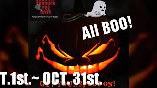 REAL GHOST STORIES HALLOWEEN!! JOURNEY THROUGH THE GATE PARANORMAL PORTAL PODCAST!