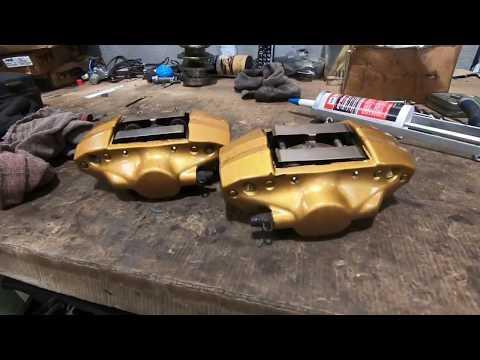 Brembo Brake Install On Subaru Outback XT