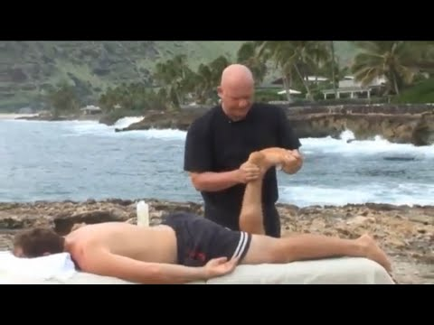 Massage Therapy In Hawaii. Raynor Massage Done In 2007 Near My Old Hawaiian House.