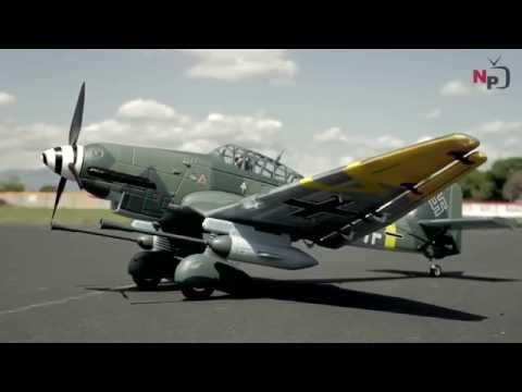New Airfield 1400mm Stuka scale German War Plane Preview