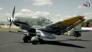 New Airfield 1400mm Stuka scale German War Plane Preview