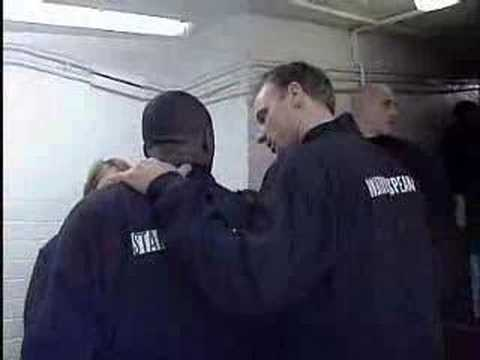 Keane and Viera fight in the tunnel