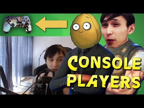 PLAYING VS CONSOLE PLAYERS - SingSing Fortnite Battle Royale Highlights