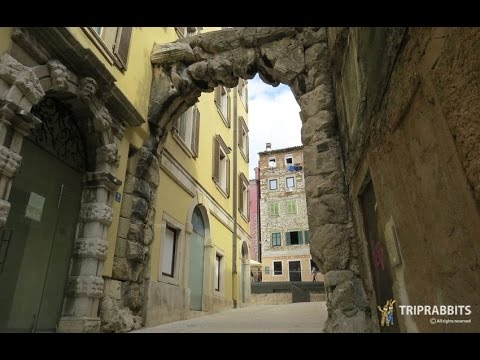 The old gateway Roman arch (Rijeka)