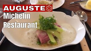 AUGUSTE Restaurant PARIS - Michelin Rated 2018