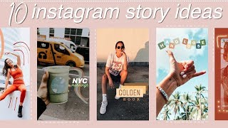 Creative Instagram Story Ideas + editing using ONLY the app!