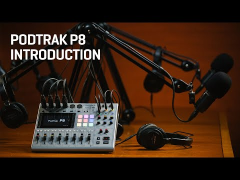 The Zoom PodTrak P8 : Introduction