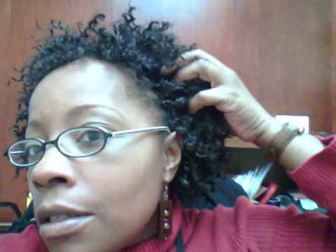 Youtube Short Crochet Hairstyles : Completed Protective Style - Crochet Braids - YouTube
