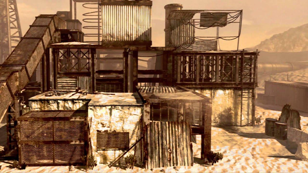 Modern Warfare 2 Hd Wallpaper Call Of Duty Mw2 Map Rust Cinematics Hd Download Youtube