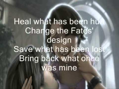 Healing Incantation-Lyrics On Screen