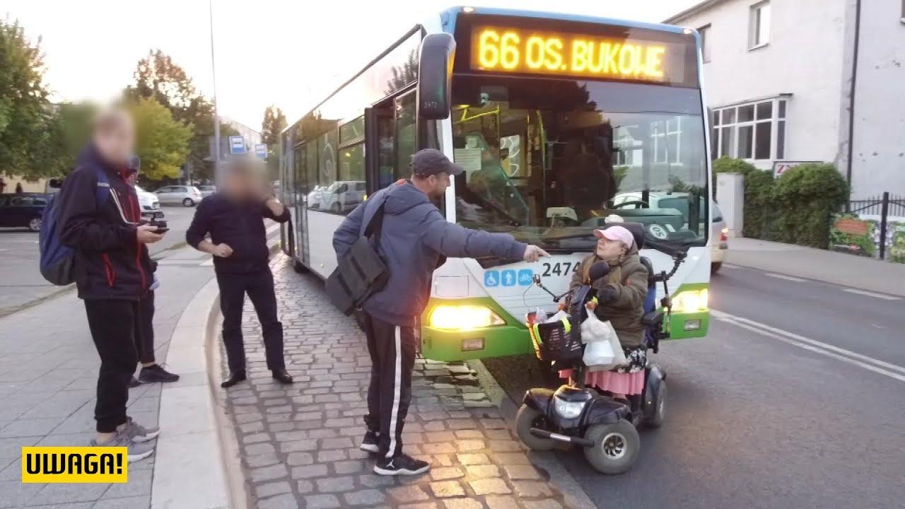 Kobieta na skuterze elektrycznym paraliżuje miasto (UWAGA! TVN)
