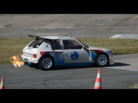 peugeot 205 t16 evo 2 with huge backfires driven by bruno saby linas montlh ry 2016 youtube. Black Bedroom Furniture Sets. Home Design Ideas