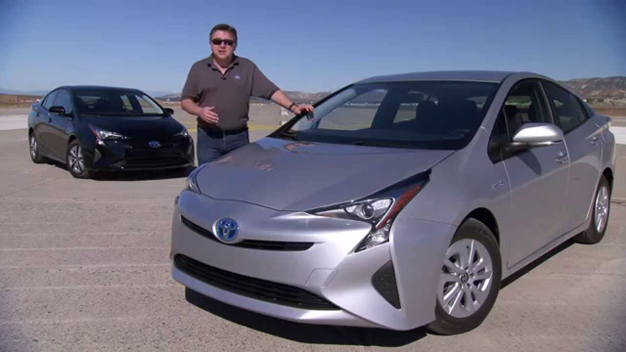 First Drive 2016 Toyota Prius 4th Generation Of Toyotas Hybrid