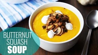 Best Butternut Squash Soup Recipe | Vegan Holiday Recipes Thumbnail