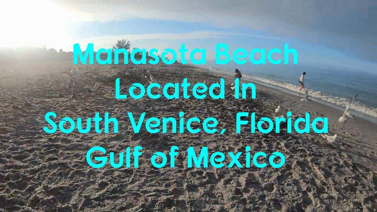 "Manasota Beach Venice Florida ""Sunrise Beach Walk"" 4k ..."