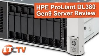 HP Proliant DL380 Gen9 Rack Server Review