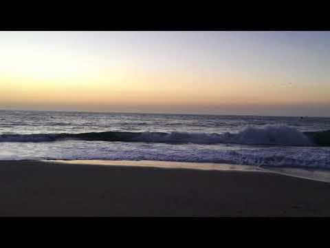 Observing A Gorgeous Sunset Over The Pacific From Moss Landing, CA (10-8-2017) Video Clip #6