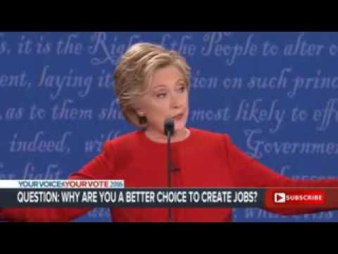 Debates Clinton & Trump Lastest on September 2016 Full