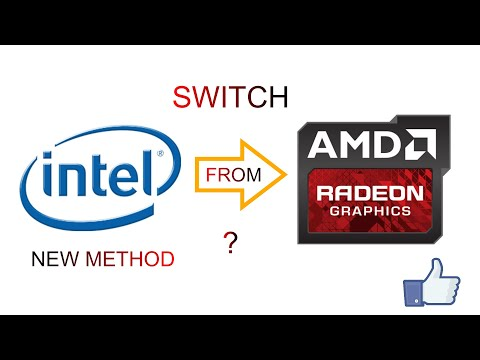 How To Switch From Intel Graphics To Amd Graphics | New Method