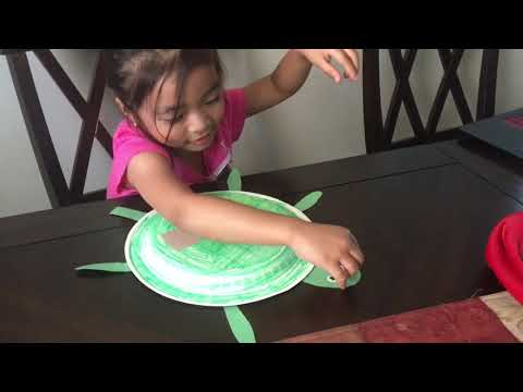 Turtle Paper Plate Arts And Crafts