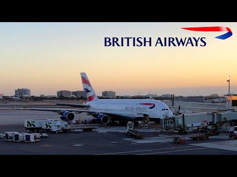 British Airways | A380 | London Heathrow ✈ Miami, FL | Club World |