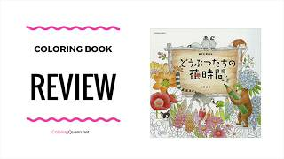 Download Mp3 Animals Of The Flower Time Coloring Book Review