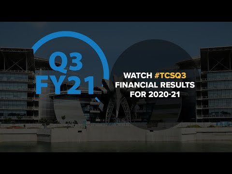 #TCSQ3 FY 2020-21 Financial Results