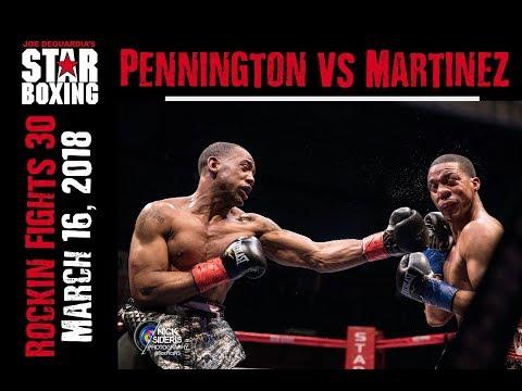 Rockin' Fights 30: Courtney Pennington vs Steven Martinez