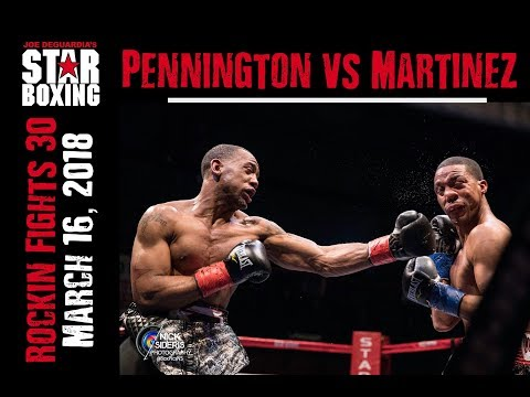 Rockin' Fights 30: Courtney Pennington vs Steven Martinez