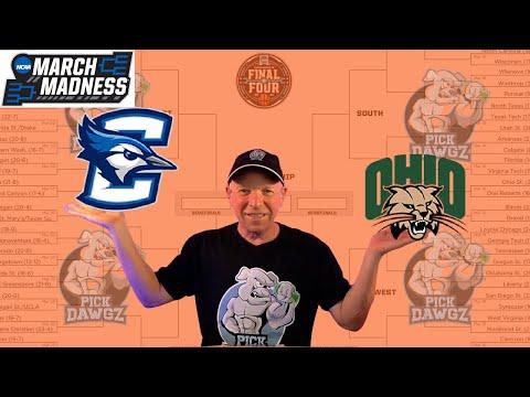 Creighton vs Ohio 3/22/21 Free College Basketball Pick and Prediction NCAA Tournament