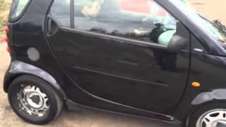 Прокат авто в Одессе Mercedes Smart