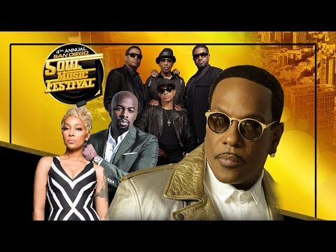 San Diego Soul Music Fest 2018 w/ Charlie Wilson & More!