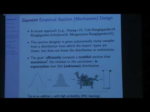 Efficient empirical revenue maximization in single... - Yannai Gonczarowski