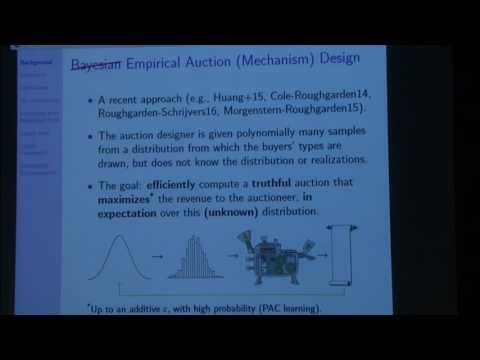 Efficient empirical revenue maximization in single... - Yannai Gonczarowski