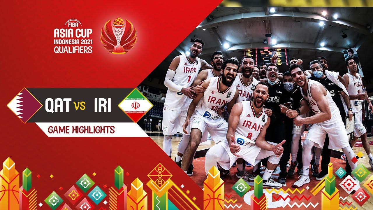 Qatar - Iran | Highlights - FIBA Asia Cup 2021 Qualifiers